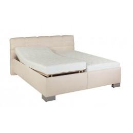 Kvalitní čalouněná postel Lena