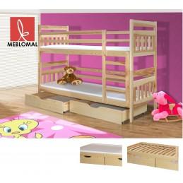 Dětská postel Bruno, masiv +matrace zdarma