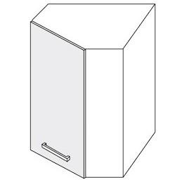 Platinum - horní skříňka rohová