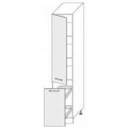 Titanum - potravinová skříň 40 s výsuvem