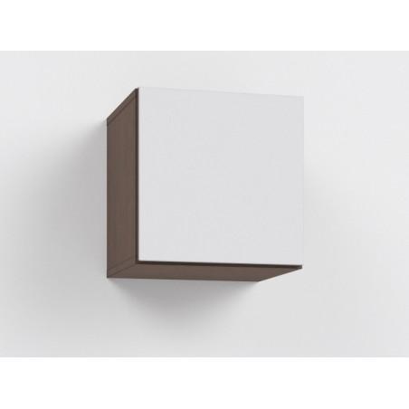 Závěsní skříňka Rebecca6K+ 6/DL -lacobel bílý