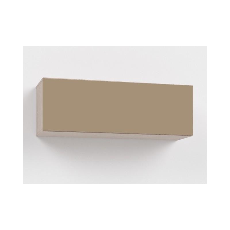 Závěsná skříňka Rebecca 105 - vysoký lesk cappucino/bardolíno