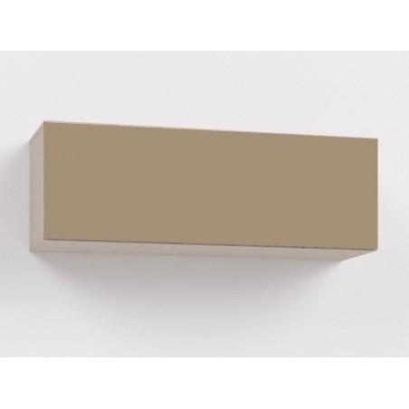 Závěsná skříňka Rebecca8K+ 8/DL - lacobel cappucino