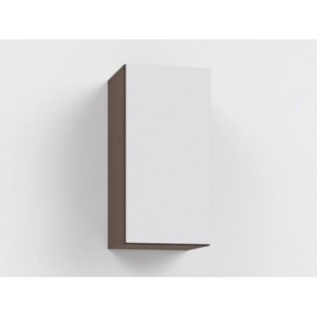 Závěsná skříňka Rebecca 9K+ 9/DL -lacobel bílá