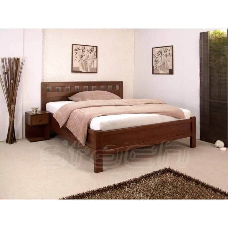 Masivní postel Atos