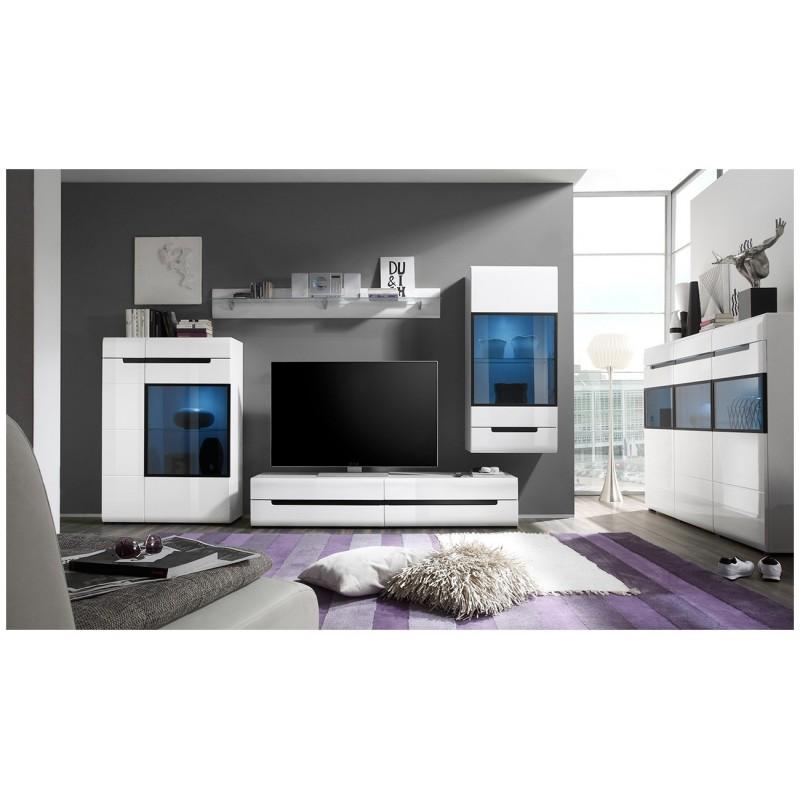 Moderní obývací stěna Viktor -Lesk!