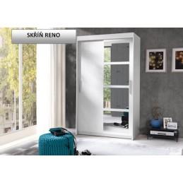 Šatní skříň RENO bílá