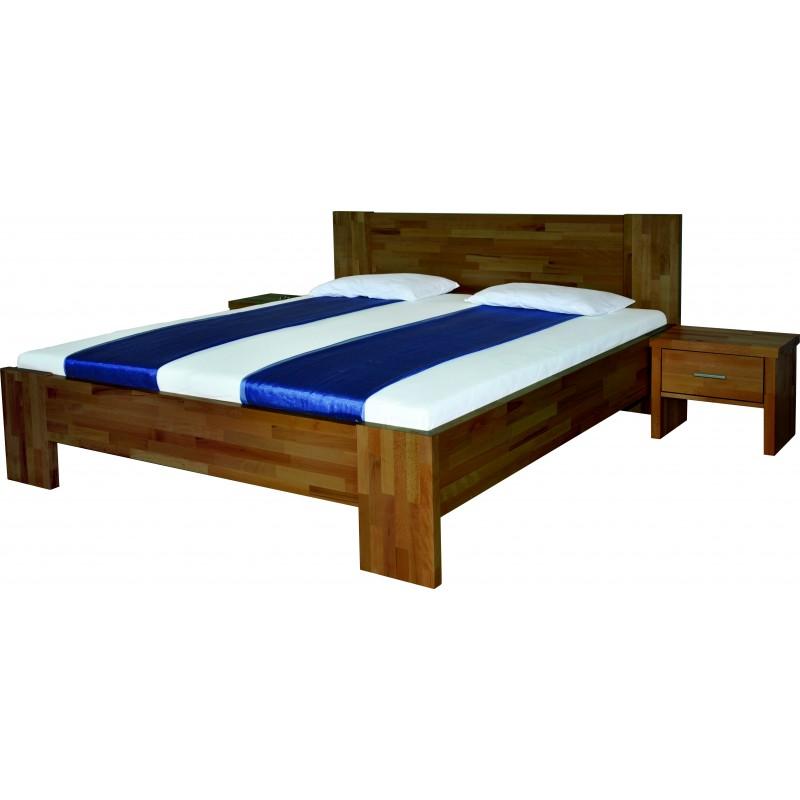 Dřevěná postel FORTUNA