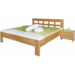 dřevěná postel Delanna