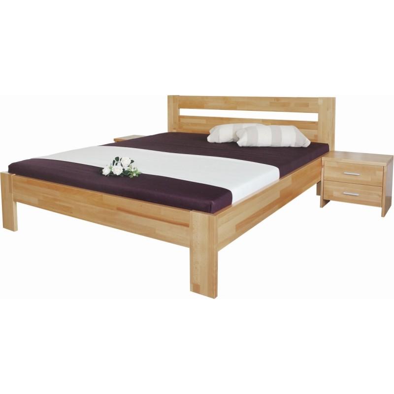 dřevěná postel Vitalia