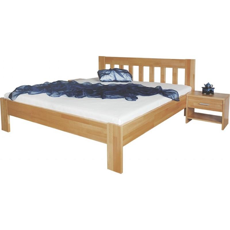 dřevěná postel Bianca