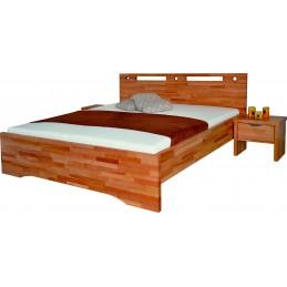 Dřevěná postel OLYMPIA