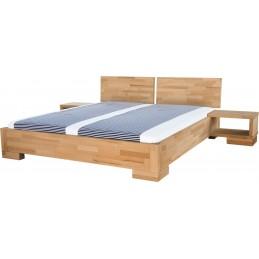 Dřevěná postel ALBA