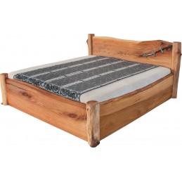 dřevěná postel Adana