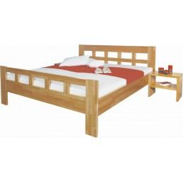 dřevěná postel Viviana