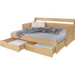 dřevěná postel Otela