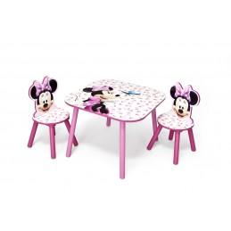 Dětský stůl s židličkami Minnie