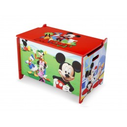 Dřevěná truhla Mickey Mouse
