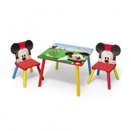 Stůl+2 židle Mickey Mouse