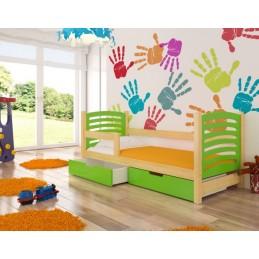 Dětská postel Kamila s matracemi