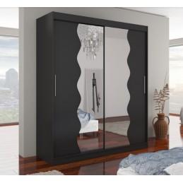 Šatní skříň Kansas se zrcadlem