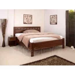 Masivní postel ATOS-EU s roštem a ÚP