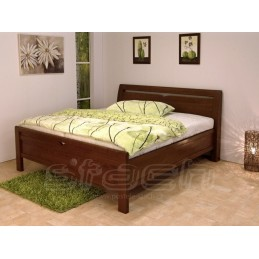Moderní postel Yasmine Masiv!