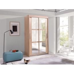 Moderní šatní skříň KARO sonoma