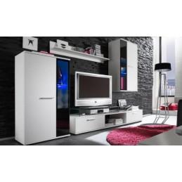 Obývací stěna bílá Alza 1 - HIT