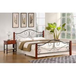 Stylová kovová postel Violetta- 160x200cm